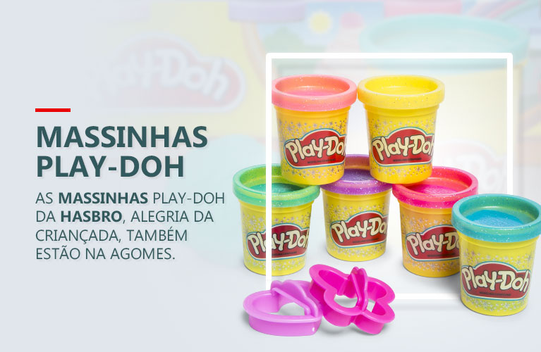 Massinhas Play-Doh da Hasbro